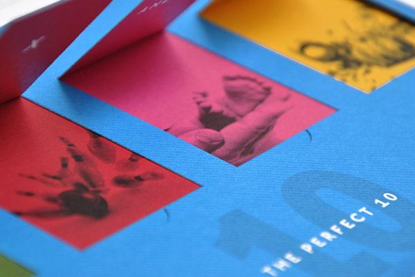 Bluestein 10th Anniversary Card